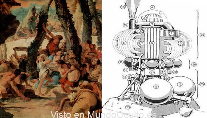 La máquina de maná: ¿tecnología alien que alimentó a los judíos durante el éxodo?