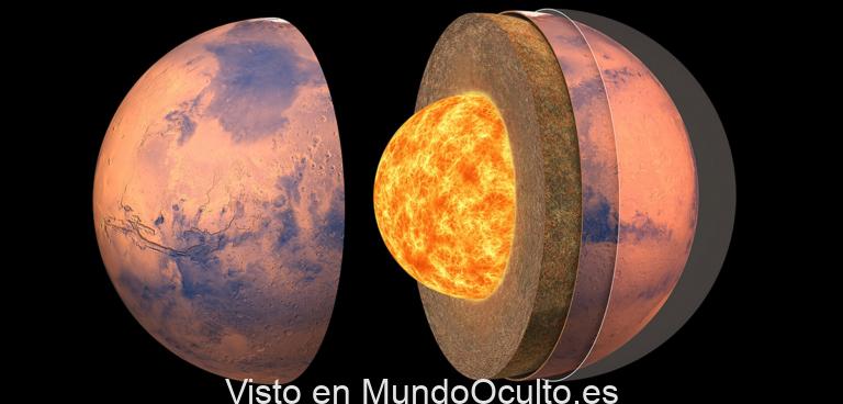 Vemos el interior de Marte por primera vez: es muy distinto al de la Tierra