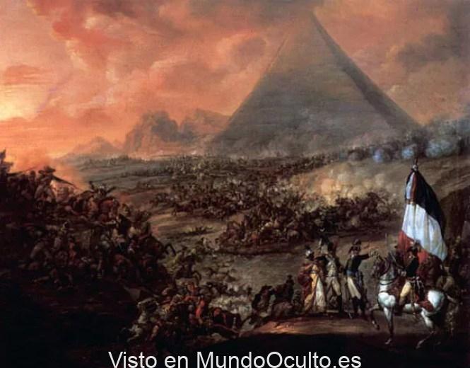 La experiencia mística de Napoleón dentro de la Gran Pirámide de Giza