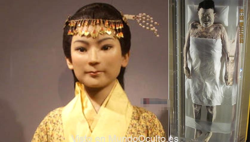 Lady Dai: una momia de 2.000 años con sangre que incluso fluye en sus venas