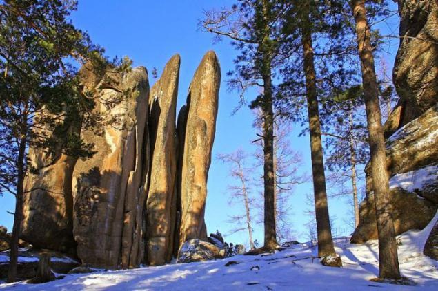Pilares de Krasnoyarsk